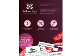 3 x voucher FashionDays in valoare de 150 Ron