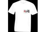 5 x tricou inscriptionat cu sigla 64u
