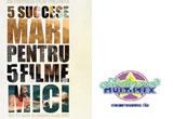 <span style=&quot;font-weight: bold;&quot;>5 DVD-uri  '5 succese mari pentru 5 filme mici'</span><br />