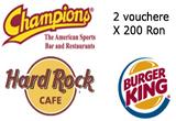 <b>Meniuri si vouchere valabile in magazinele si restaurantele unor branduri americane</b><br type=&quot;_moz&quot; />