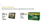 1 x reuniune de clasa, 20 x rama foto digitale, 200 x cutie promotionala Jacobs (contin 2 pachete de cafea Jacobs Kroenung 250g si o cana Jacobs)