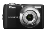 un pachet Nikon (Aparat foto digital Nikon Coolpix L21 + Card memorie 2GB + Kit Nikon Coolkit II)