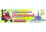 o excursie la DisneyLand pentru 3 persoane, 7% Reducere pe Viata + un Card Cadou de 300 RON, 4% Reducere pe Viata + un Card Cadou de 150 RON