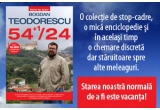 "3 x cartea ""54+1/24"" de Bogdan Teodorescu"
