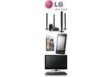 un Home Cinema, un telefon LG Pop GD510, un LCD, un DVD-Player