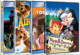 <div><b>16 DVD-uri cu desene animate</b>&nbsp;pentru cei mici cat si pentru cei mari oferite de <a target=&quot;_blank&quot; rel=&quot;nofollow&quot; href=&quot;http://www.copilul.ro/index.html&quot;>Copilul.ro</a> si <a rel=&quot;nofollow&quot; target=&quot;_blank&quot; href=&quot;http://www.provideo.ro/&quot;>ProVideo</a></div>