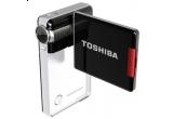 o camera video Toshiba Camileo S10 + husa + trepied