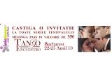 o invitatie pentru toate cele 4 seri ale Bucharest Tango Encuentro Festival