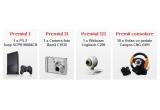 o consola Playstation 2 Sony SCPH-90004CB, o camera foto BenQ C1030, un webcam Logitech C200, 10 x volan cu pedale Canyon CNG-GW1