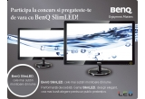 un LCD SLIM BenQ V2220, (o salata + un fresh) / zi