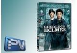 un DVD cu filmul Sherlock Holmes